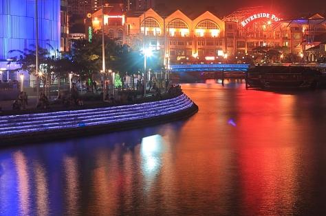 Clarke Quay and Singapore River