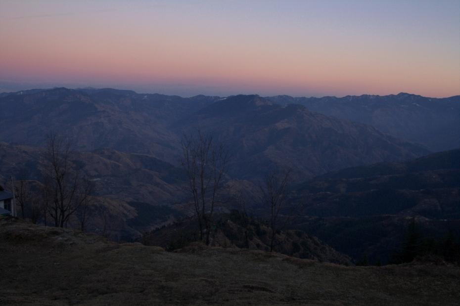 Sunset at Kufri