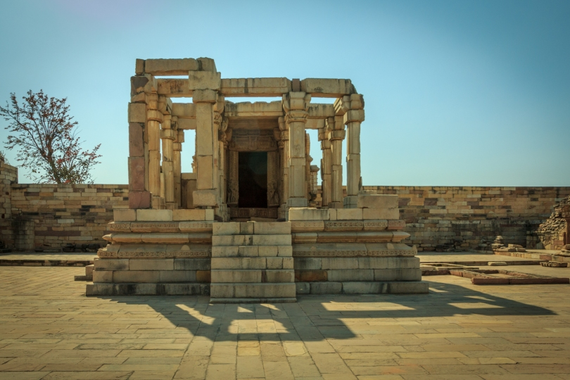 A ruin of temple in Garhwa fort