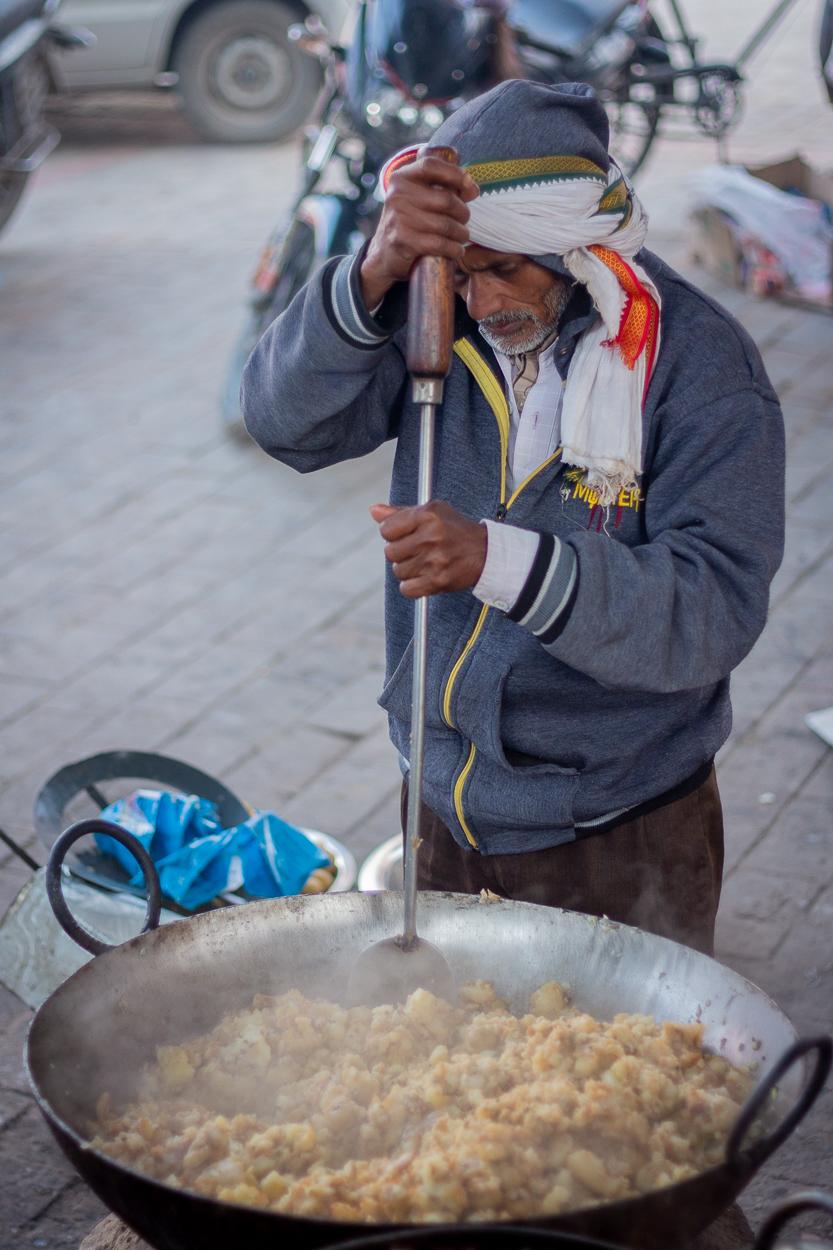 Preparation of Samosa